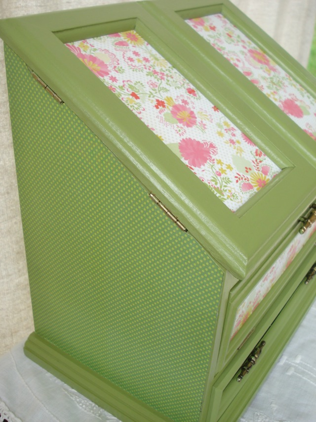 More Completed Vintage Jewelry Boxes